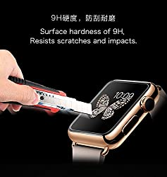 Joyroom 2.5D 0.1mm Ultrathin 9H Hardness Tempered Glass Screen Protector for Apple Watch 38mm