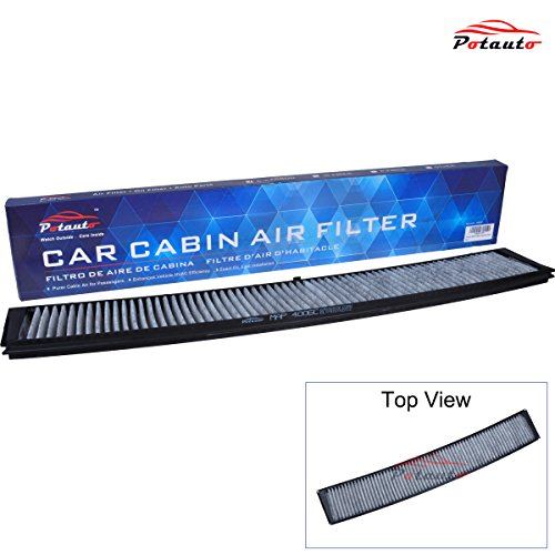 POTAUTO MAP 4006C Heavy Activated Carbon Car Cabin Air Filter Replacement compatible with BMW, 300 Series, M Series, X3