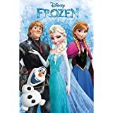"Frozen Movie Poster - Group 22""x34"" Art Print Poster"