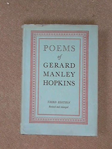 poetry of gerard manley hopkins essay Elizabeth bishop felt an affinity for hopkins's poems she read them in harriet monroe's anthology of modern poets during her years at vassar college her fondness for hopkins deepened, culminating in an astute and original essay.