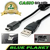 CASIO Exilim EX-Z18 / EX-Z19 / EX-Z20 / EX-Z29 / USB Cable Data Transfer Lead UK