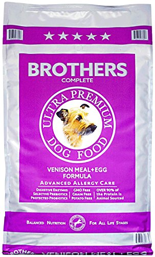 Brothers Complete Venison & Egg Advanced Allergy Care (Brothers Allergy Dog Food compare prices)