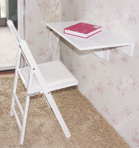 Sobuy folding wall mounted drop leaf kitchen dining table - Wall mounted table kitchen ...