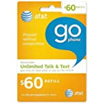 60 AT&T Go Phone Refill Card