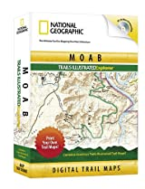 National Geographic Moab Trails Illustrated Explorer