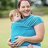 Fulares Portabeb�s- Azul Cielo -Portador de Bebe-Envio Gratuito-Fulares por Hombre y Mujer-Talla �nica-Baby Carrier-fulares portabeb�s el�sticos