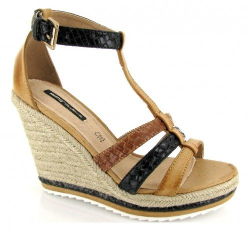 Mtng Donna 53911 Tar Camel / Botega Negro sandali Marron Size: 41