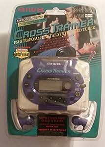 Amazon.com: Aiwa Cross Trainer Stereo Radio Cassette Player HS-SP550