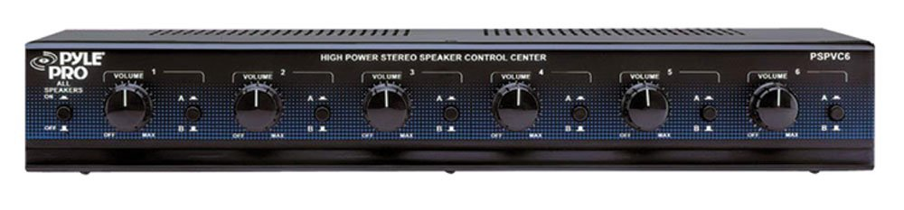 Pyle Home PSPVC6 6-Channel High Power Stereo Speaker Selector with Volume Control at Sears.com