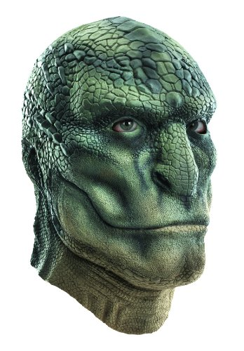 Disguise Marvel The Amazing Spider-Man Lizard Latex Deluxe Mask Costume Accessory
