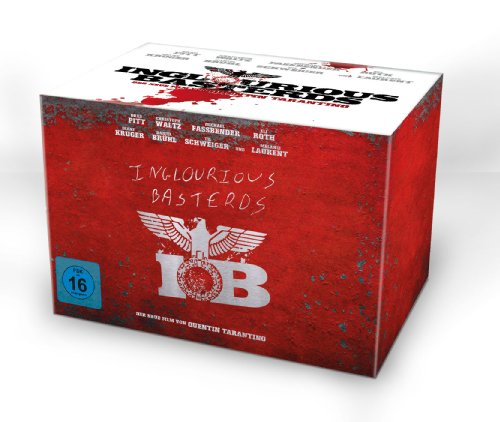Inglourious Basterds Collector's Edition im Steelbook (exklusiv bei Amazon.de) [Blu-ray] [Limited Edition]