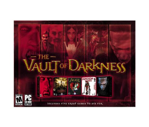 The Vault of Darkness: Dracula Resurrection / Clive Barker's Undying / American McGee's Alice / Dungeon Keeper 2 / Dracula: The Last Sanctuary