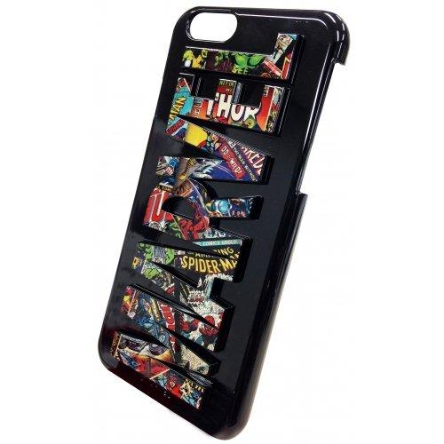 グルマンディーズ MARVEL iPhone6対応 3Dシェルジャケット コミックス MV-46A