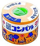 ニチバン 布テープ コンパル 50mm×10m巻 CPN13-50 オレンジ