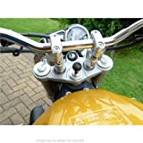 13.3mm-14.7mm Motorcycle Bike Fork Stem Yoke GPS Mount for Garmin Zumo 390LM