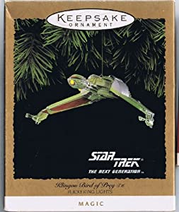Star Trek Klingon Bird of Prey 1994 Hallmark Ornament
