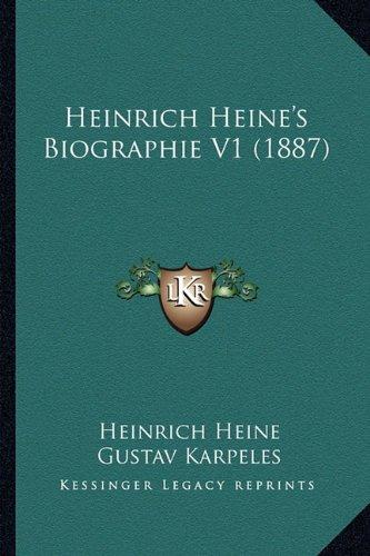 Heinrich Heine's Biographie V1 (1887)