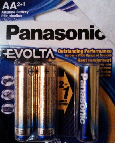 AA Panasonic Evolta Alkaline Battery 2+1 (Panasonic Evolta Aa compare prices)