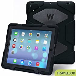 Ipad 2/3/4 Case, Kidspr Ipad Case *New* *Hot* Super Protect [Shockproof] [Rainproof] [Sandproof] with Built-in Screen Protector for Apple Ipad 2/3/4 (Army/Green)
