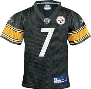 NFL Reebok Pittsburgh Steelers Ben Roethlisberger Toddler 3T Footbal Jersey by Reebok