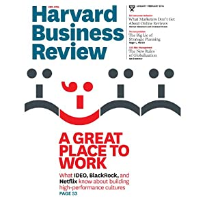 Harvard Business Review, January/February 2014 | [Harvard Business Review]