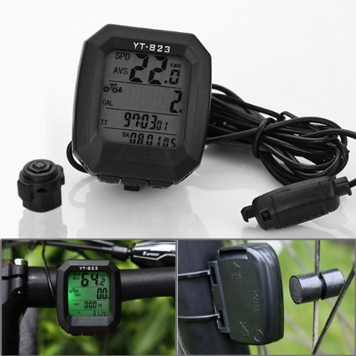 24 Functions Waterproof Backlight LCD Display