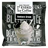 Big Train Cookies-n-Cream Blended Ice Coffee, 2.8-Ounce Single Serve Packages (Pack of 25) ~ Big Train
