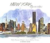 echange, troc Jerome Charyn, Fabrice Moireau - New York aquarelles