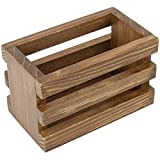 7Gypsies Mini Vintage Crate, 3.5 by 2.75-Inch, Stained Wood