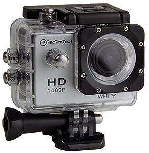 [Nouvelle version] TecTecTec XPRO1 caméra de sport Wi-Fi HD Full HD 1080p  (couleur argent)