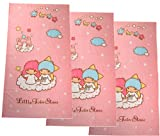 2 Piece Pink Little Twin Stars Hand Towel - Little Twin Stars Face Towel