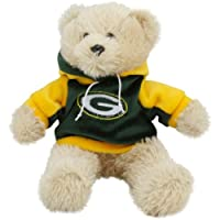 """Green Bay Packers 8"""" Fuzzy Hoody Bear by Forever Collectibles"""