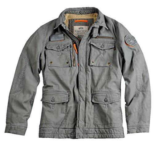 Alpha Ind. Jacke Rod II- greyblack online bestellen