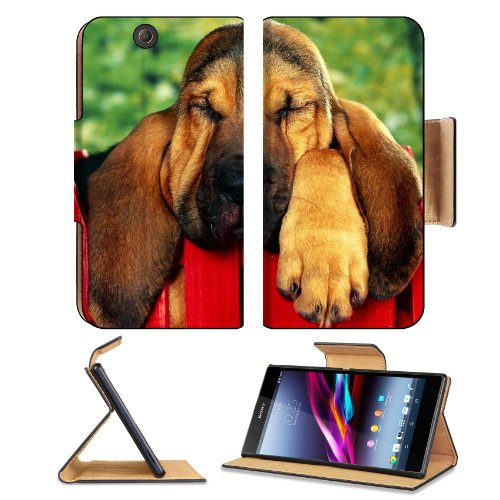 Dog Ears Sleep Fence Brown Sony Xperia Z Ultra Flip Case Stand Magnetic Cover Open Ports Customized Made To Order Support Ready Premium Deluxe Pu Leather 7 1/4 Inch (185Mm) X 3 15/16 Inch (100Mm) X 9/16 Inch (14Mm) Liil Sony Xperia Z Ultra Cover Professio