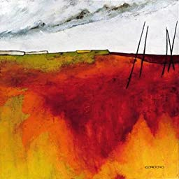 27W x 27H Fascinating Landscape V by Emiliana Cordaro - Stretched Canvas w/ BRUSHSTROKES