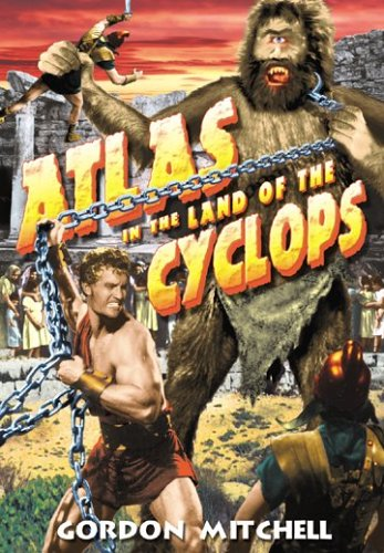 Cover art for  Atlas in the Land of Cyclops