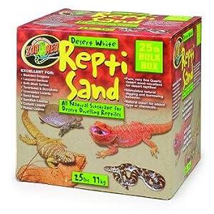 Zoo Med ReptiSand® Desert, 25 Pounds, White