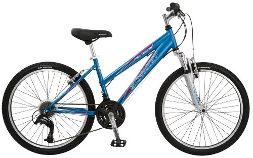Schwinn High Timber Girls' Mountain Bike (24-Inch Wheels)