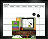 Board Dudes 18 x 22 Inch Magnetic Dry Erase Calendar, Packaging May Vary (84012VA)