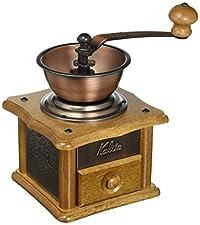 Kalita Copper Plate Mill Hand Coffee Grinder AC-1 by Kalita (Carita)