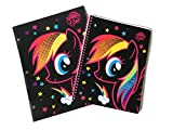 My Little Pony - Rainbow Dash Spiral Notebook and Folder School Supply Bundle