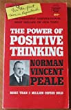 Power of Positive Thinking (0800780337) by Norman Vincent Peale