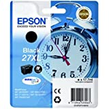 Epson Alarm Clock No.27XL Series High Capacity Ink Cartridge - Black