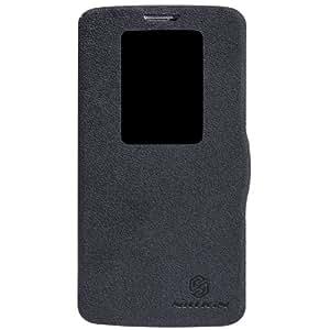 Dolextech Frische Series Mix PU Leder quick window hülle tasche Schutzhülle case für LG G2 D802 smartphone 100% Nillkin Schutzhülle (für LG G2, schwarz)