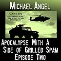 Apocalypse with a Side of Grilled Spam: Episode Two (The Strangelets Series) Audiobook by Michael Angel Narrated by Jon Goffena