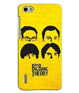 EU4IA BIG BANG THEORY MATTE FINISH 3D MATTE FINISH Back Cover Case For Huawei...