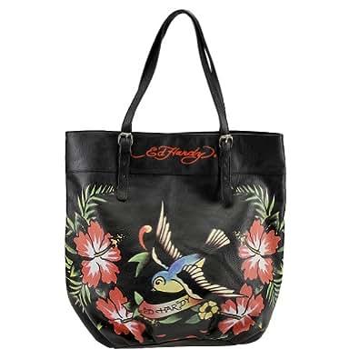 Ed hardy tania tote bag black handbags jpg 395x395 Ed hardy purses and bags 1b2b2a3af9c90