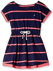 Nautica Kids Girls' Dress (34G03R418_Naval Blue_05)