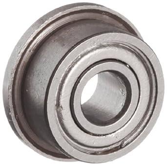 10 Flanged Shielded F693ZZ 3 x 8 x 4 mm Miniature Ball Bearings