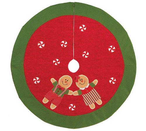 Gingerbread Man Tree Skirt Findgift Com